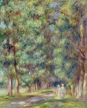 Reprodução do quadro Path in a Wood, 1910