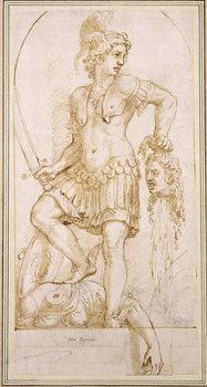 Reprodução do quadro Perseus, c.1540