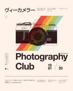 Reprodução do quadro Photography Club