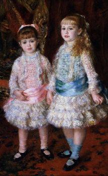 Reprodução do quadro Pink and Blue or, The Cahen d'Anvers Girls, 1881