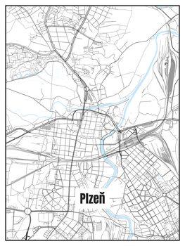 Mapa de Plzeň