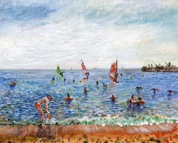 Reprodução do quadro Poblenou Beach Barcelona, 2002,