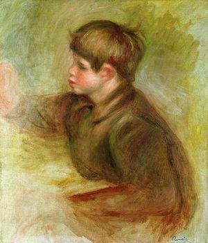 Reprodução do quadro Portrait of Coco painting, c.1910-12