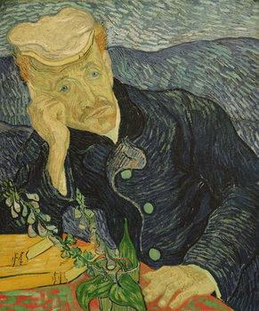 Reprodução do quadro Portrait of Dr Paul Gachet