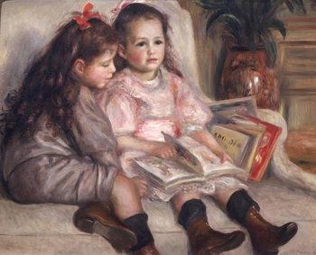Reprodução do quadro Portraits of children, or The Children of Martial Caillebotte, 1895