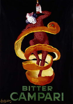 Reprodução do quadro Poster for the aperitif Bitter Campari. Illustration by Leonetto Cappiello  1921 Paris, decorative arts