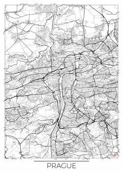 Mapa de Prague