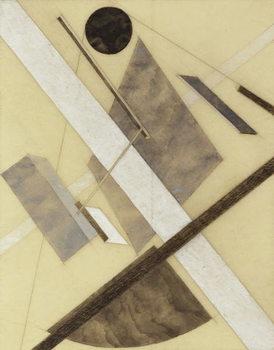 Reprodução do quadro Proun: Path of Energy and Dynamic Flows, c.1920