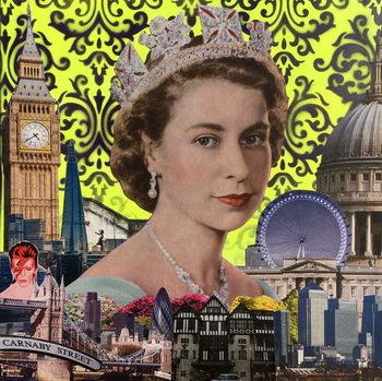 Reprodução do quadro Queen, 2015,