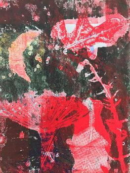 Reprodução do quadro Red moon