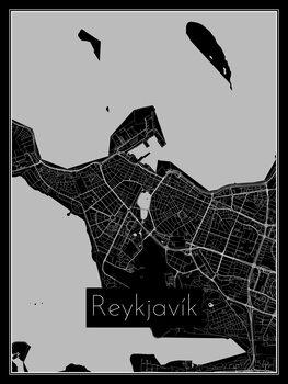 Mapa de Reykjavík