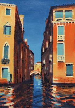 Reprodução do quadro Rio del Duca, Venice