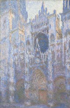 Reprodução do quadro Rouen Cathedral, West facade, 1894