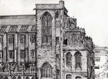 Reprodução do quadro Rylands Library Manchester, 2007,