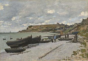 Reprodução do quadro Sainte-Adresse, 1867