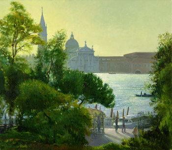 Reprodução do quadro San Giorgio, Venice