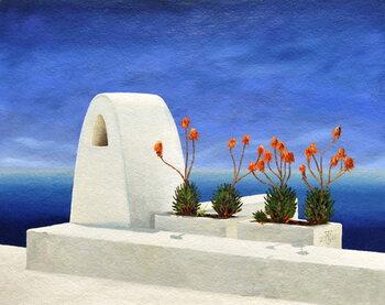 Reprodução do quadro Santorini 11, 2010