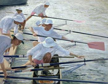 Reprodução do quadro Securing Oars, Henley