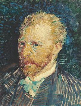 Reprodução do quadro Self Portrait, 1887