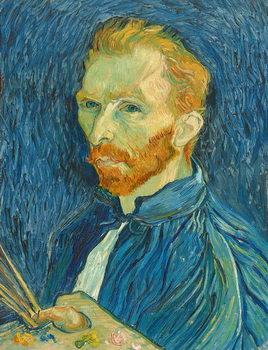 Reprodução do quadro Self-Portrait, 1889