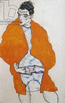 Reprodução do quadro Self portrait, 1914