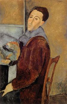 Reprodução do quadro Self Portrait, 1919