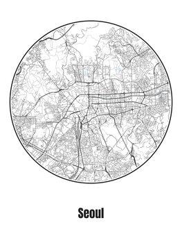 Mapa de Seoul