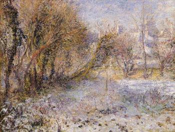 Reprodução do quadro Snowy Landscape