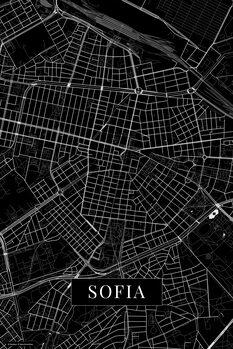 Mapa de Sofia black
