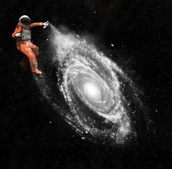 Reprodução do quadro Space Art