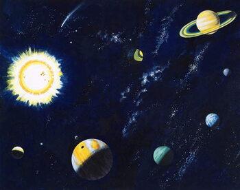 Reprodução do quadro Space