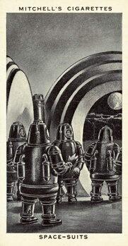 Reprodução do quadro Space-Suits
