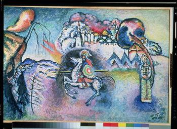 Reprodução do quadro St. George, 1914-15
