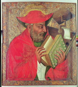 Reprodução do quadro St. Jerome