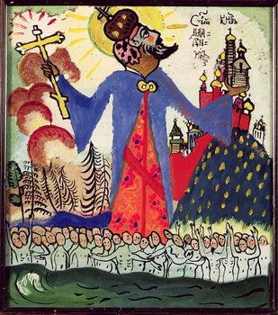 Reprodução do quadro St. Vladimir, 1911
