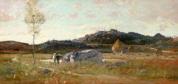 Reprodução do quadro Summer Landscape