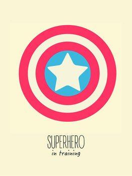 Ilustração superheorin training