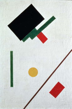 Reprodução do quadro Suprematist Composition, 1915
