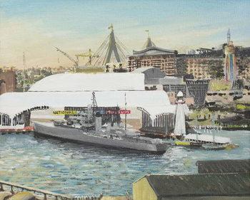 Reprodução do quadro Sydney Maritime Museum, 1998,