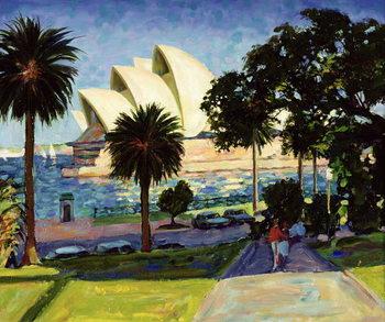 Reprodução do quadro Sydney Opera House, PM, 1990