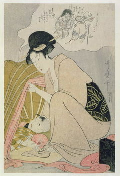 Reprodução do quadro T H Riches 1913. Child having a Nightmare, c.1801
