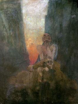 Reprodução do quadro The Abyss, 1899