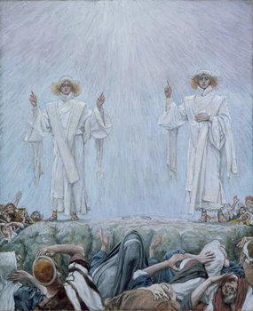 Reprodução do quadro The Ascension, illustration for 'The Life of Christ', c.1884-96