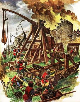 Reprodução do quadro The Big Fighting Machines