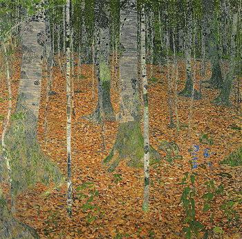 Reprodução do quadro The Birch Wood, 1903
