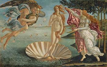 Reprodução do quadro The Birth of Venus, c.1485