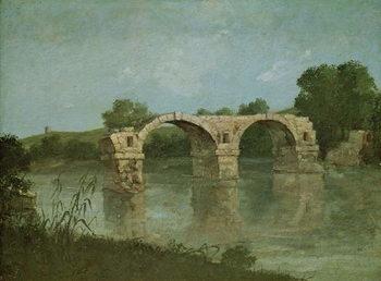Reprodução do quadro The Bridge at Ambrussum
