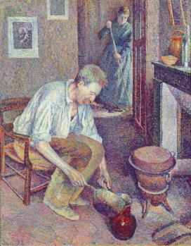 Reprodução do quadro The Coffee, 1892