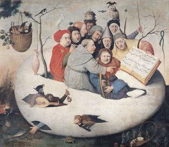Reprodução do quadro The Concert in the Egg