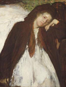Reprodução do quadro The Convalescent, c.1872-87